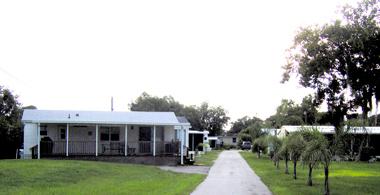 Sunshine Park In Sebring Florida near Lake Jackson